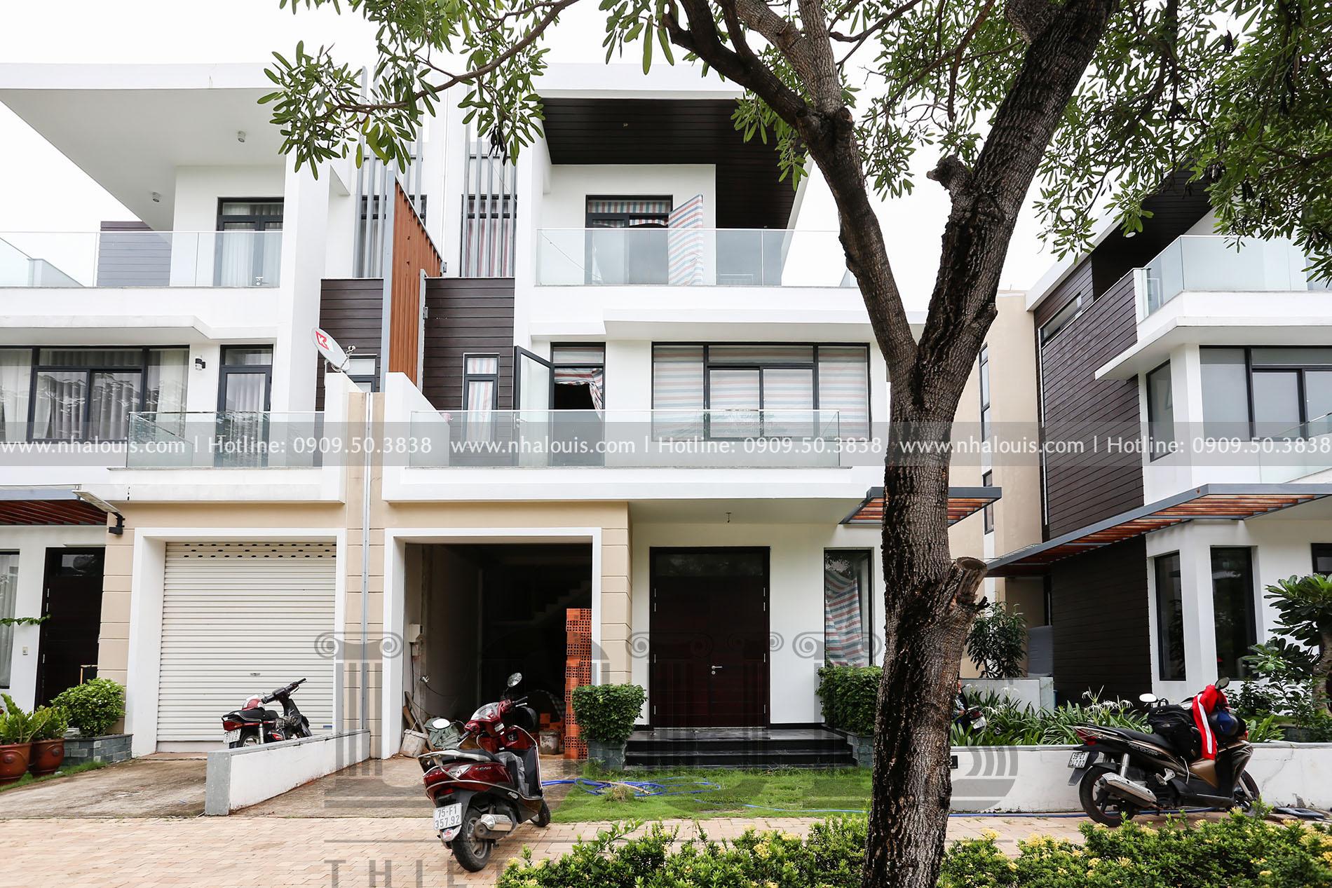 Thiết kế nội thất biệt thự phong cách hiện đại và đẳng cấp tại Quận 9