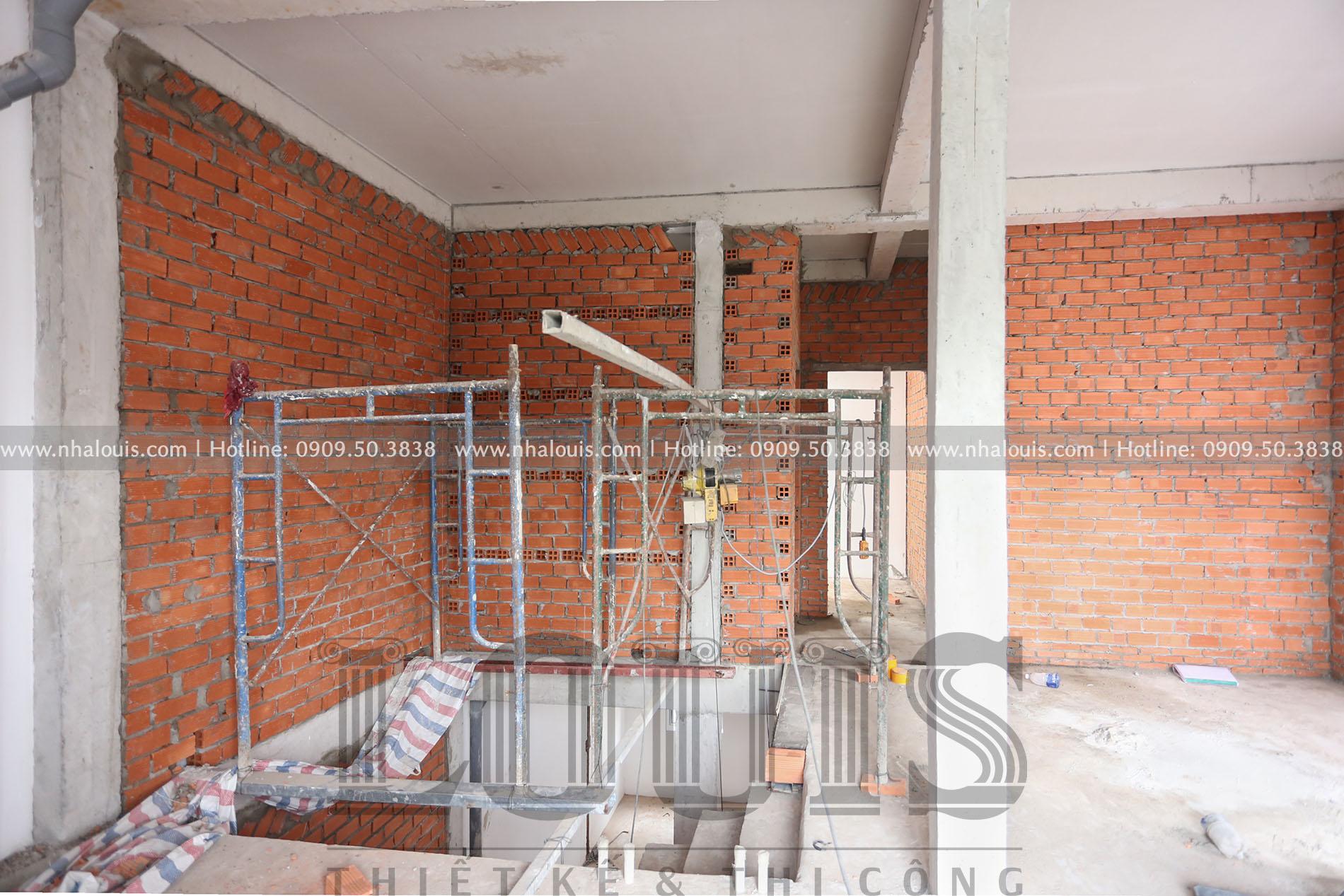 Thi công hoàn thiện nội thất biệt thự hiện đại 3 tầng đẳng cấp tại Quận 9
