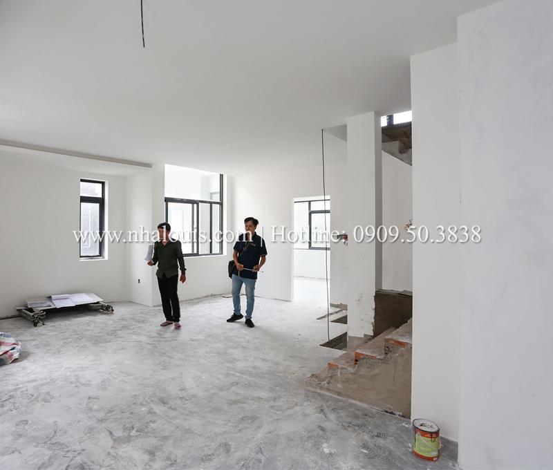 Hoàn thiện nội thất biệt thự hiện đại 3 tầng đẳng cấp tại Quận 9