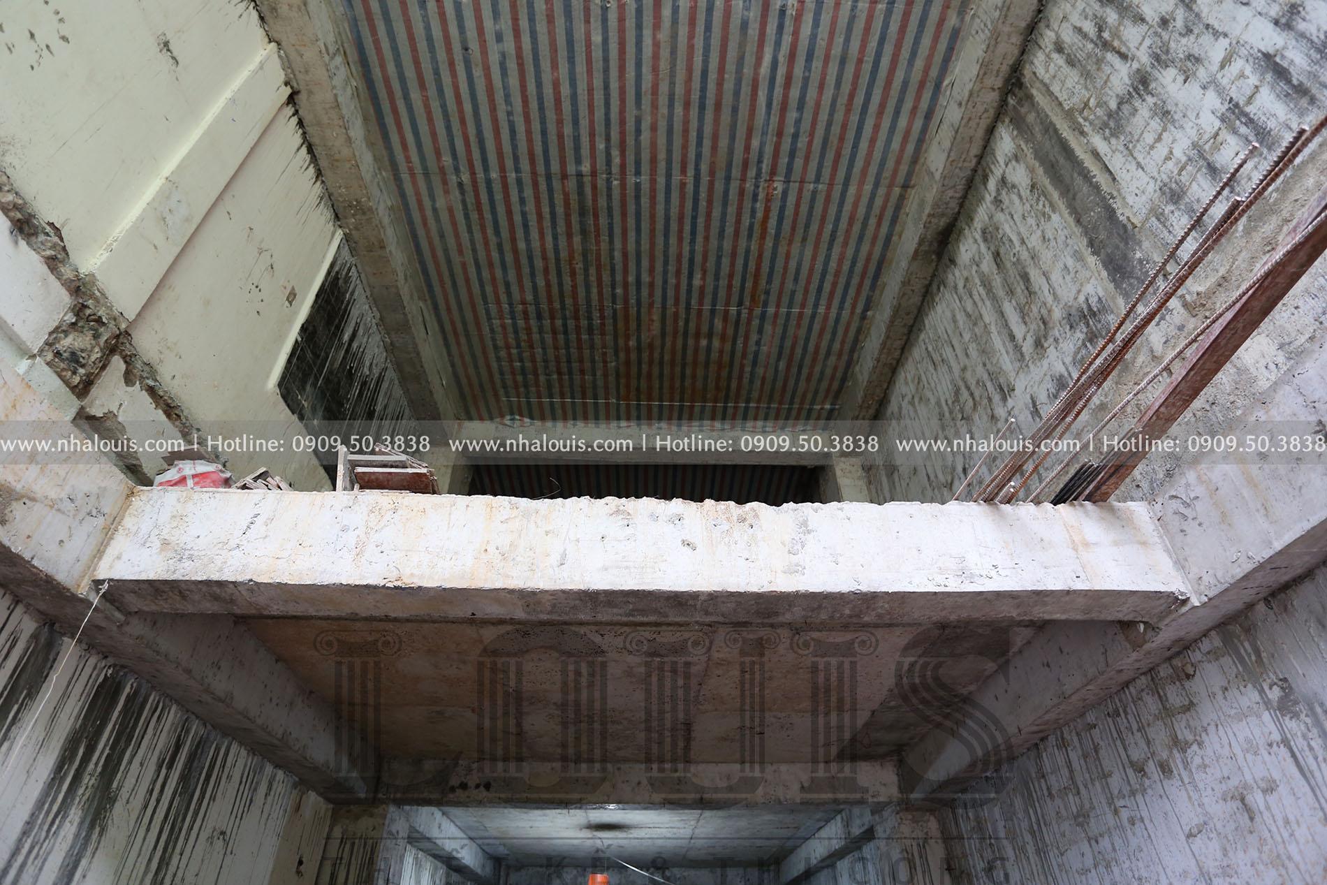 Thi công nhà tân cổ điển 7 tầng đẹp nền nã tại Quận 3