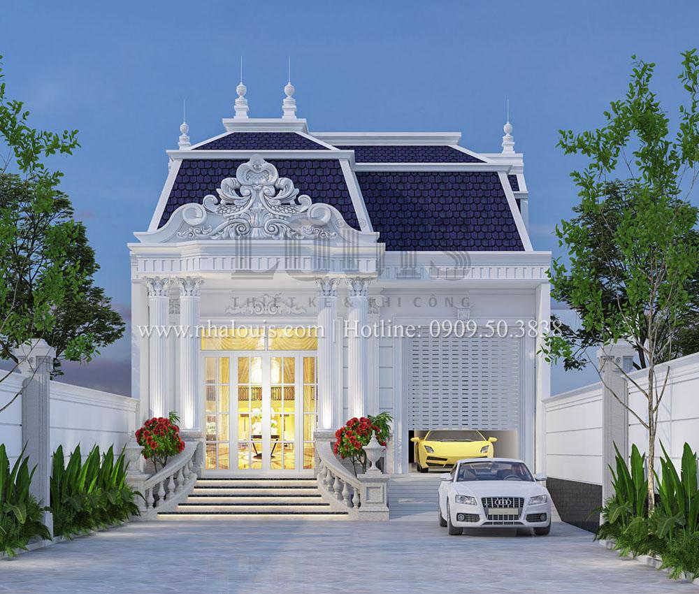 Biệt thự 2 tầng chữ L tại Tây Ninh