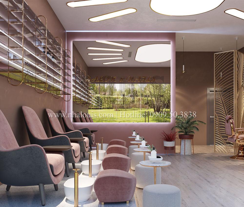 Thiết kế Beauty Salon đẹp sang trọng và đẳng cấp tại Bình Dương