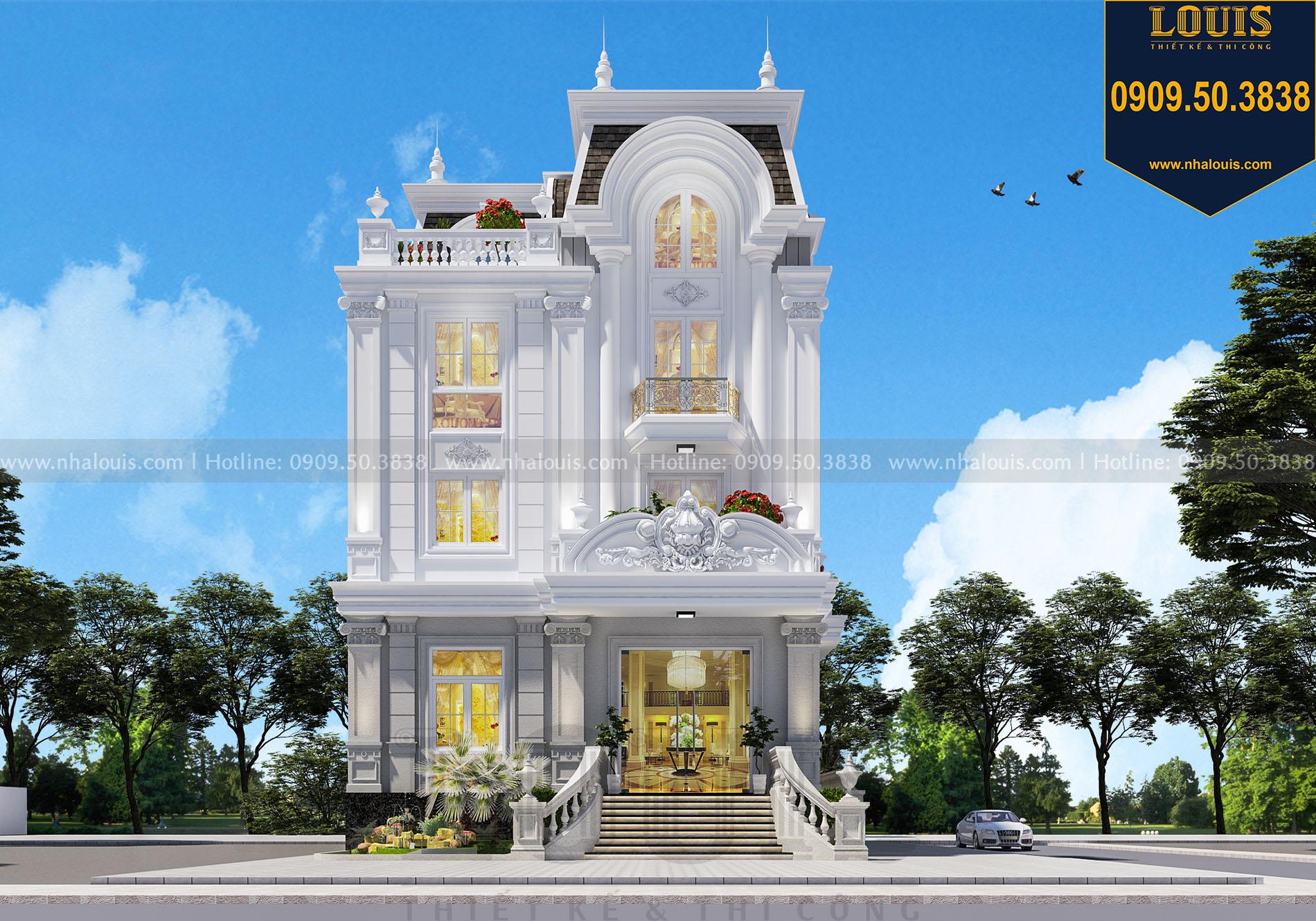 Lối vào chính của thiết kế tòa nhà văn phòng ở Kiên Giang
