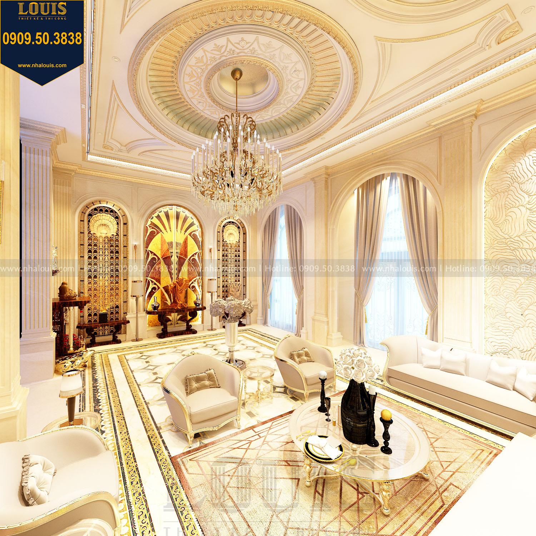 Xu hướng thiết kế nội thất phòng khách cổ điển châu Âu năm 2020