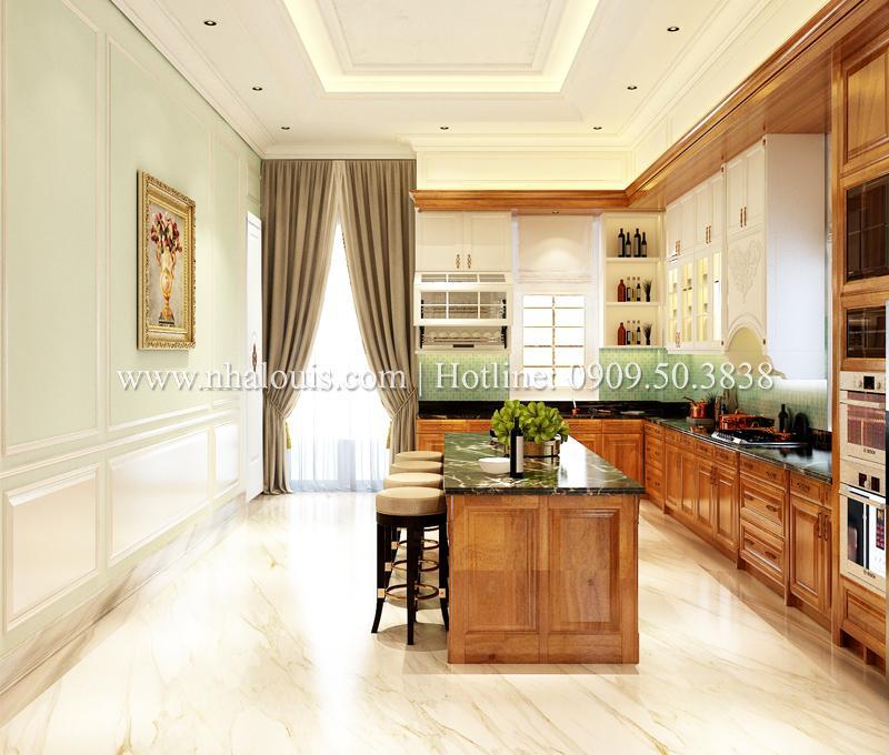 Thiết kế phòng bếp 16m2