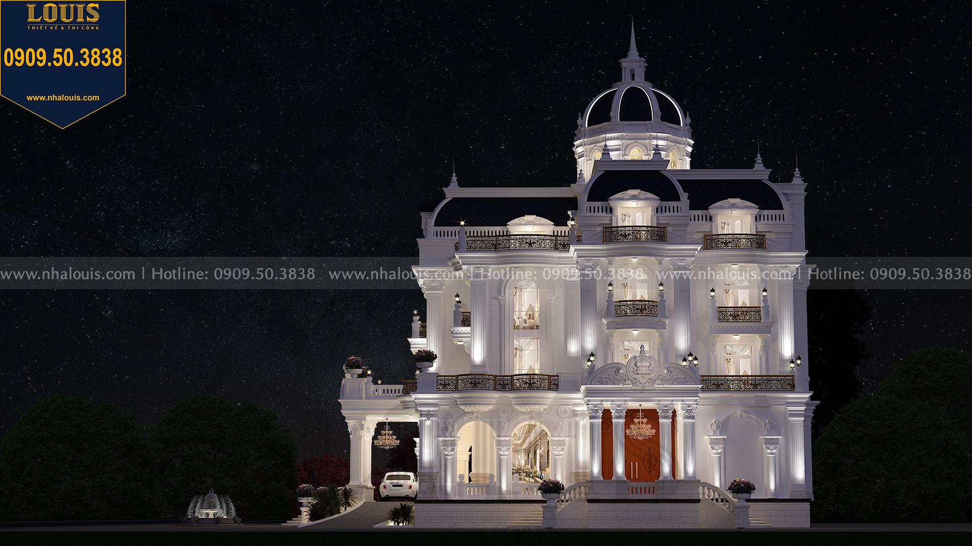 Lâu đài tân cổ điển đẹp tráng lệ tại Tiền Giang