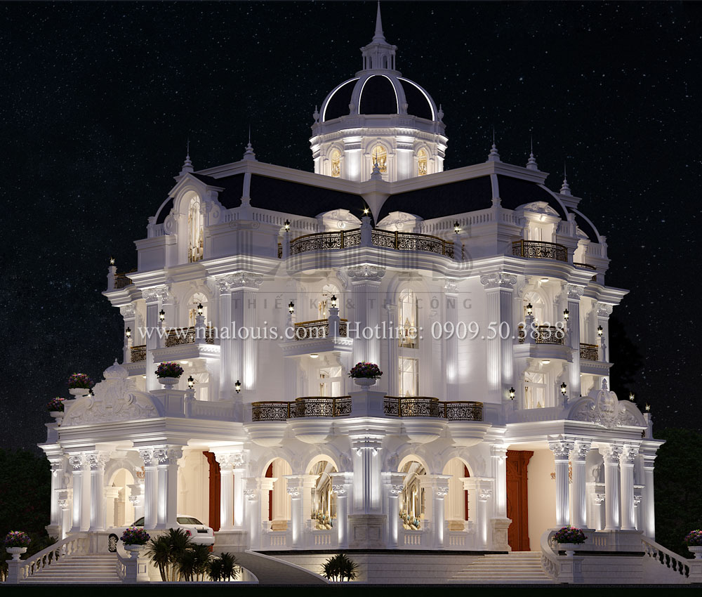 Lâu đài Tân cổ điển tại Tiền Giang