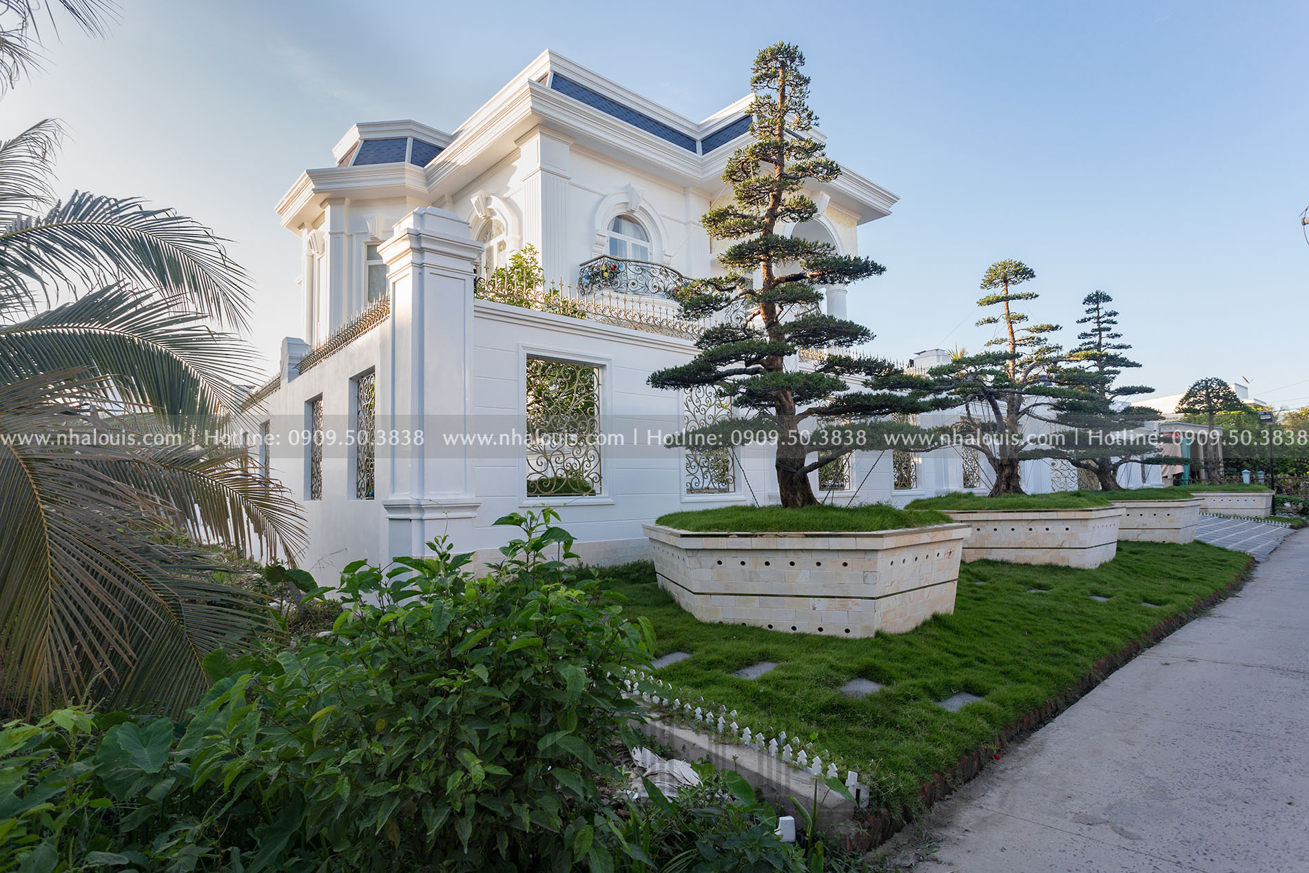 Thi công biệt thự 2 tầng tân cổ điển đẹp tại Tiền Giang