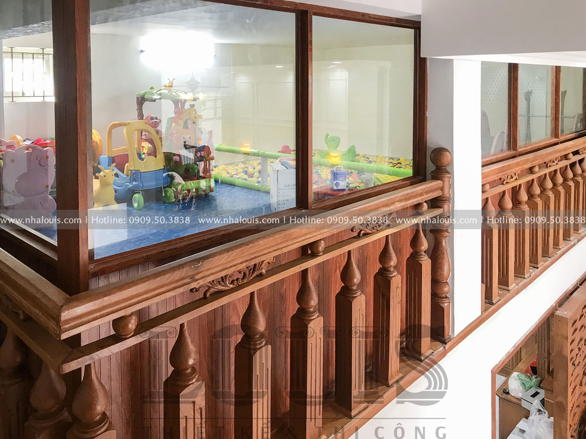 thi công cải tạo biệt thự 3 tầng tân cổ điển