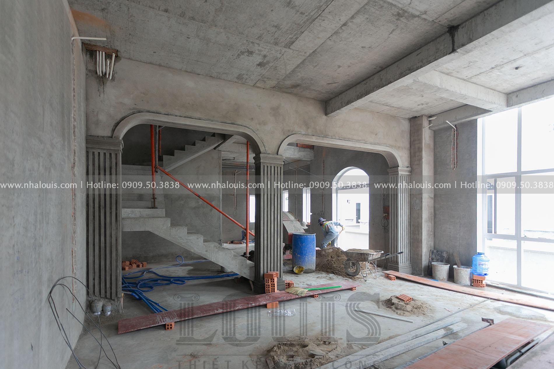 Thi công hoàn thiện nội thất biệt thự tân cổ điển tại Quận 2