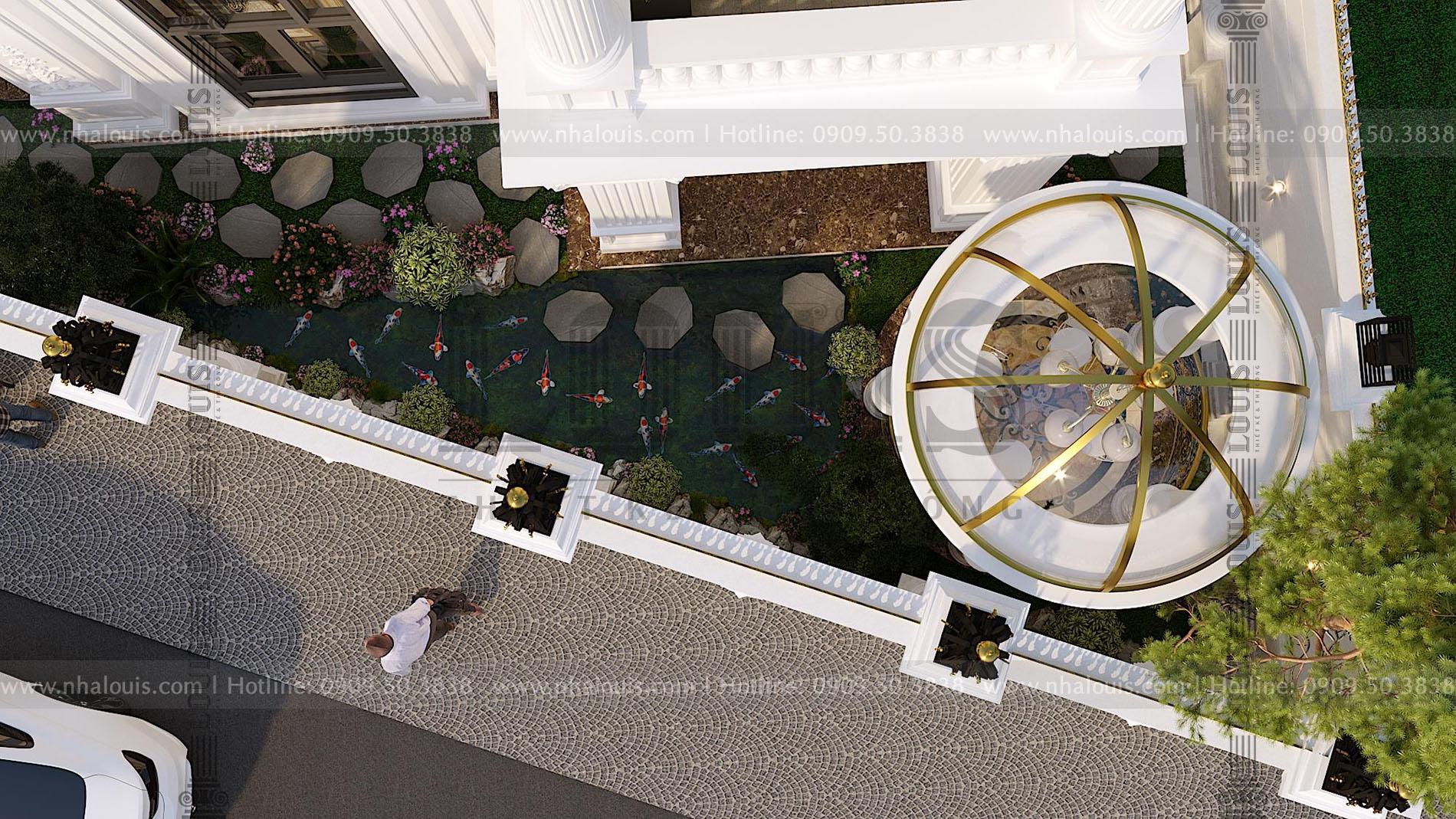 thiết kế cải tạo biệt thự 3 tầng tại bến tre