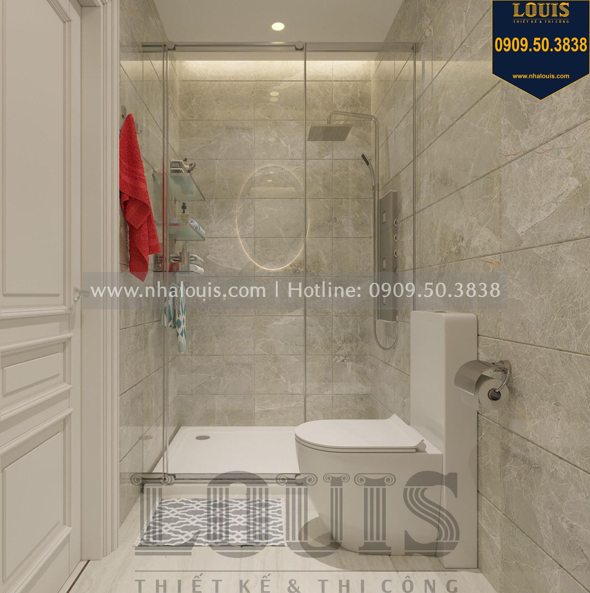 WC phòng ngủ 2 thiết kế nội thất biệt thự tân cổ điển tại quận 2