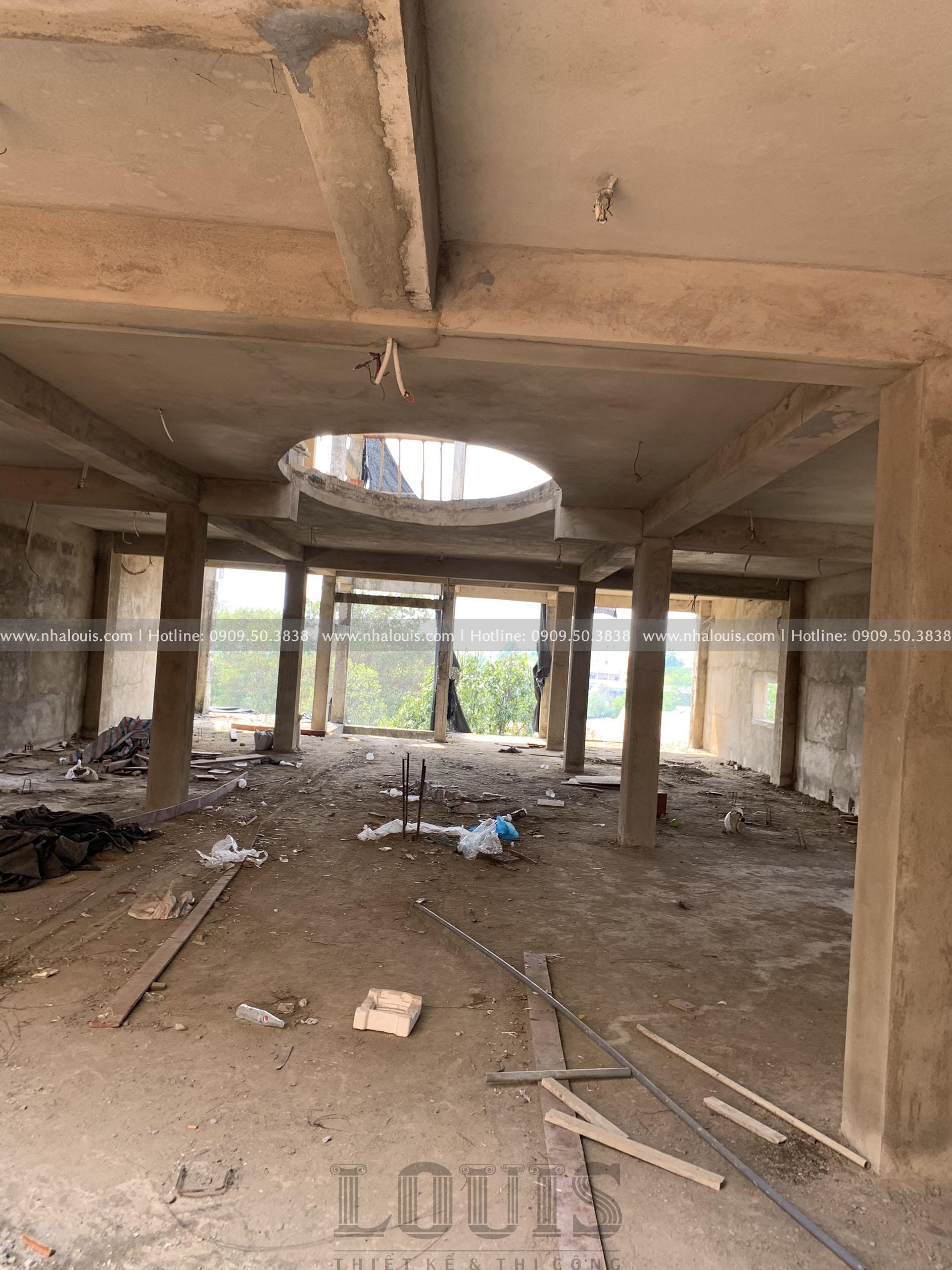 hiện trạng toà nhà 9 tầng cổ điển