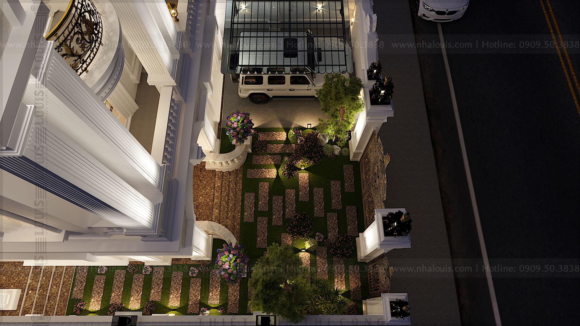 thiết kế nhà biệt thự 3 tầng mái thái tại đà nẵng