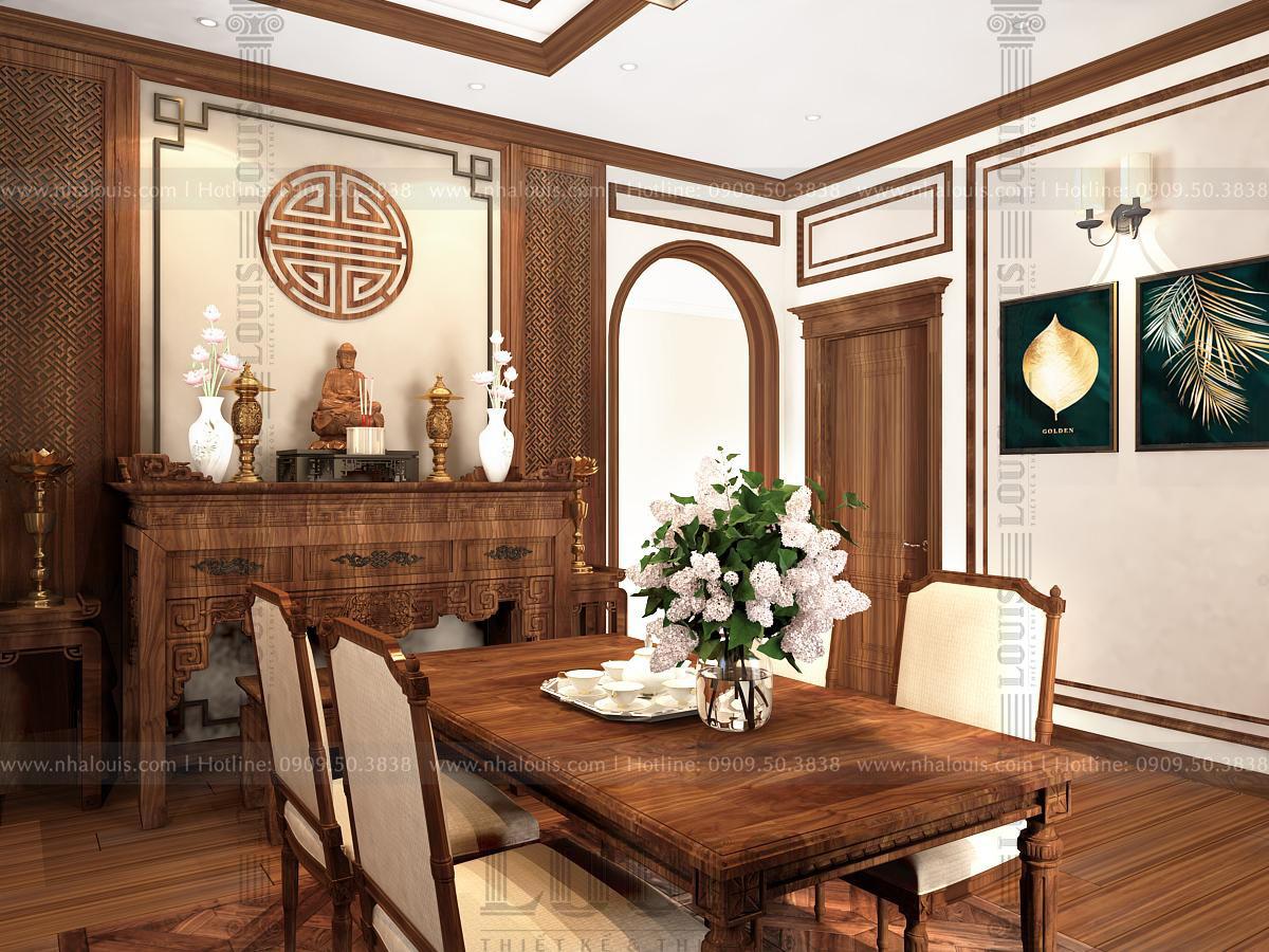 nội thất biệt thự tân cổ điển 3 tầng mái thái tại đà nẵng