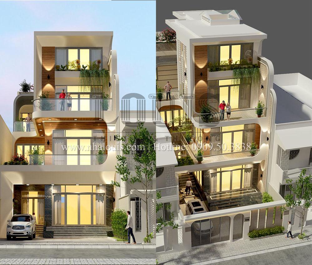 Nhà phố hiện đại phù hợp xu hướng 2020 tại quận 12