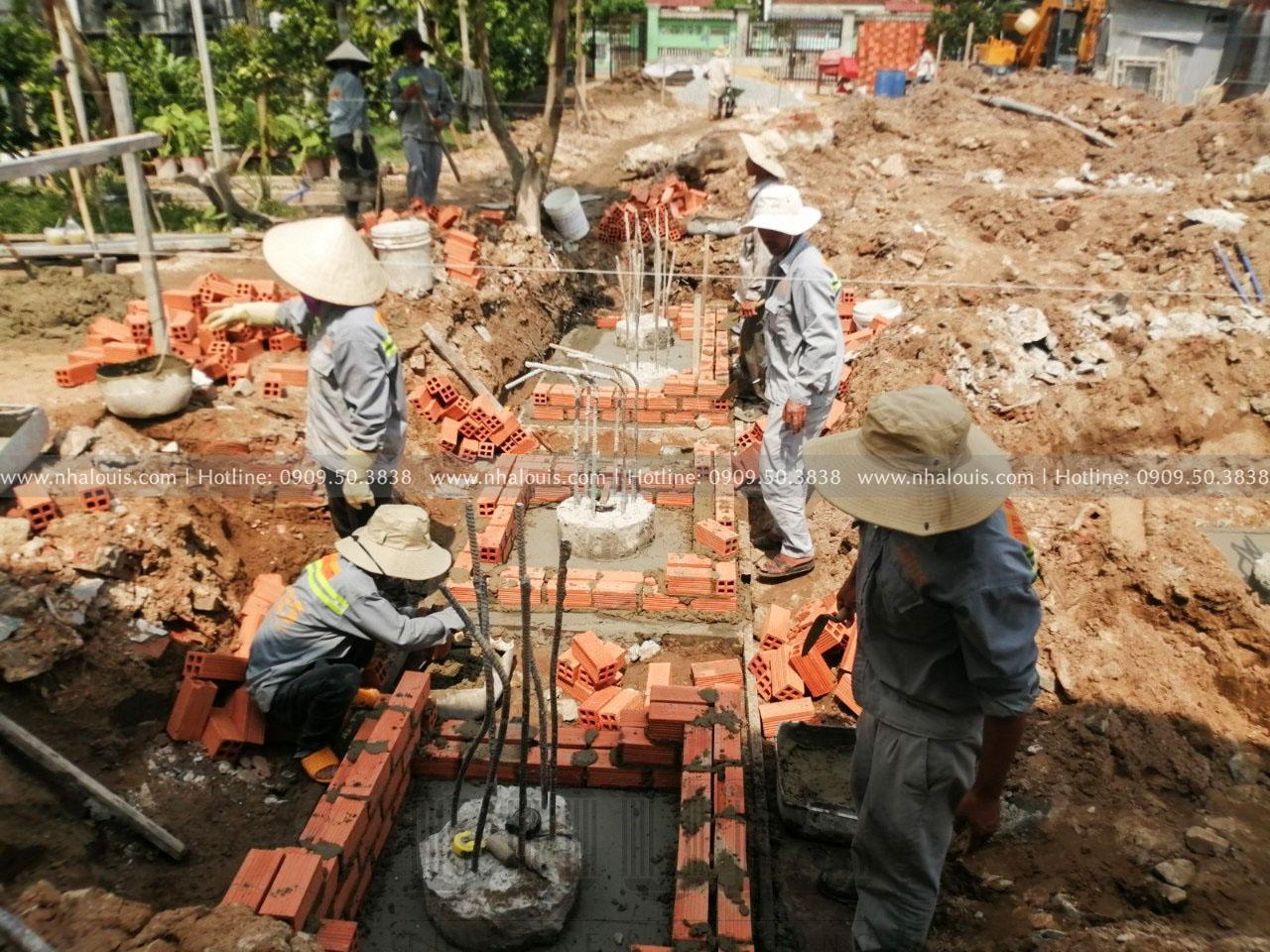 Khởi công biệt thự 3 tầng tân cổ điển Tây Ninh