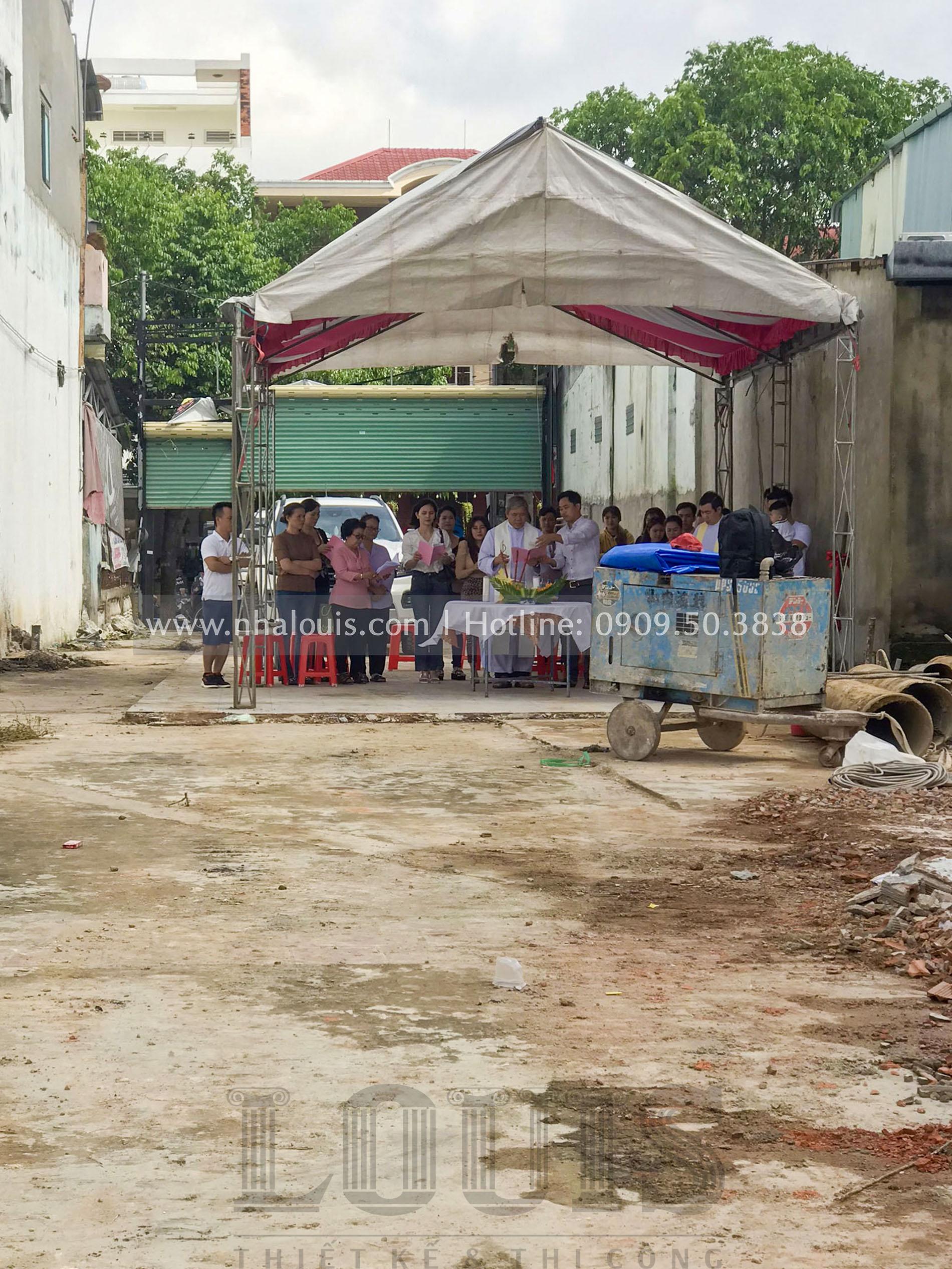Khởi công biệt thự cổ điển 5 tầng lộng lẫy tại Đồng Nai
