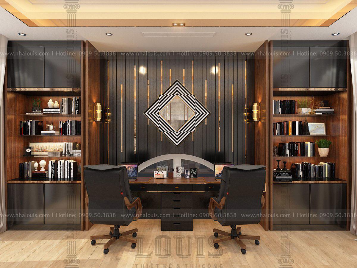 thiết kế biệt thự 4 tầng hiện đại tại campuchia