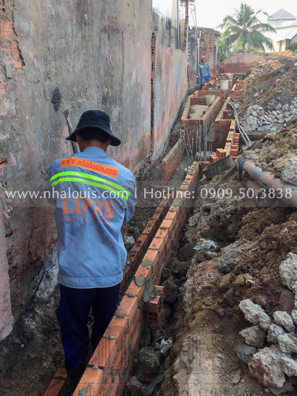 Thi công móng biệt thự cổ điển 5 tầng tại Đồng Nai