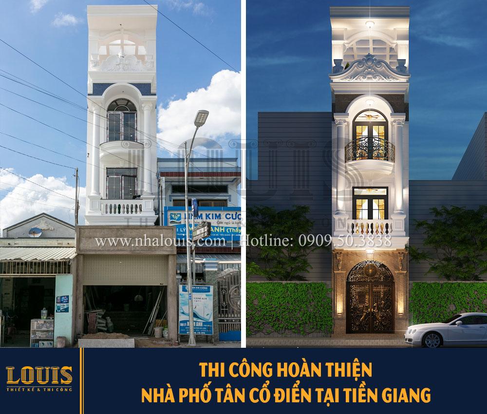 Thi công hoàn thiện nhà phố tân cổ điển 3m tại Tiền Giang [Video]