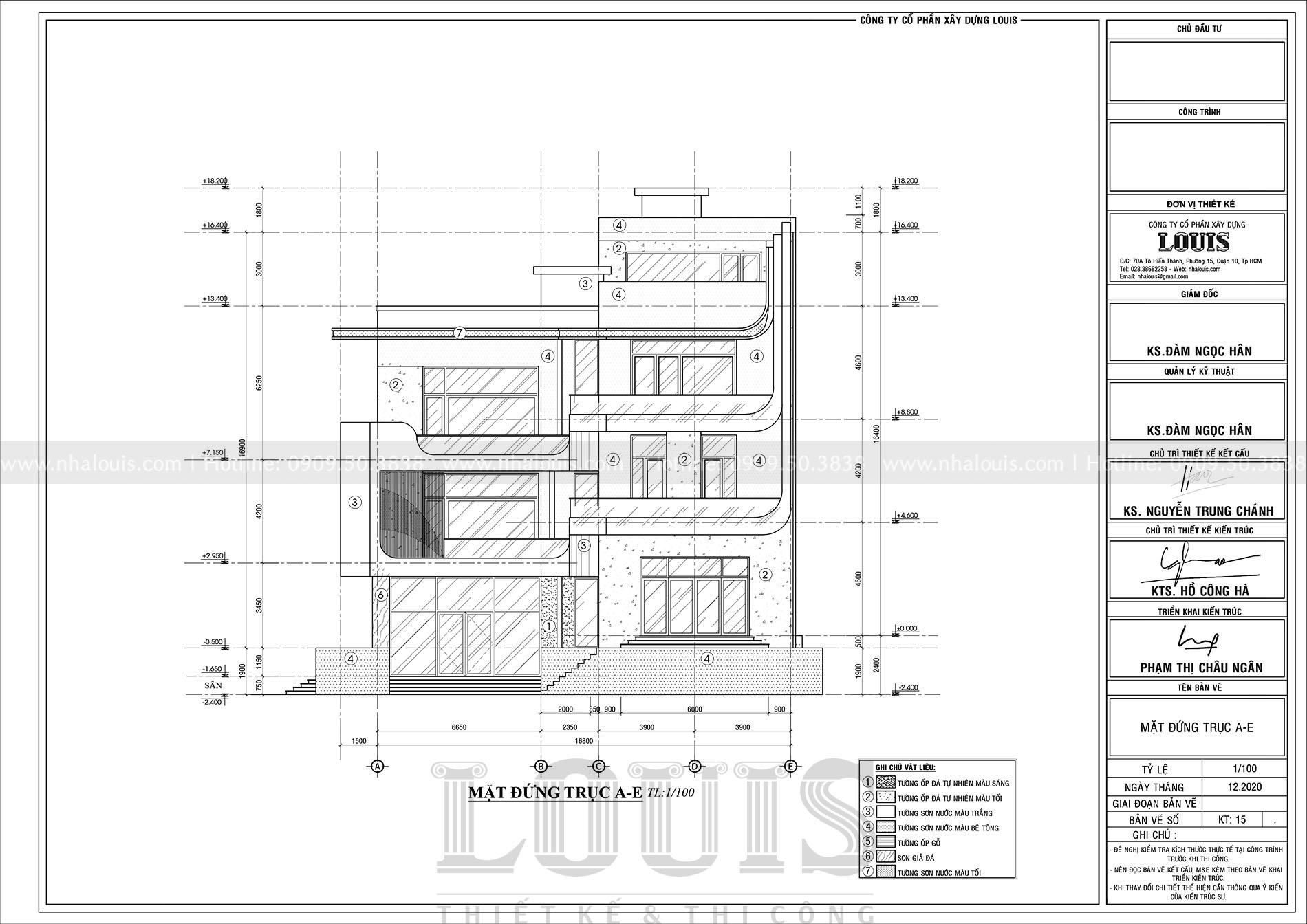 thiết kế biệt thự hiện đại 3 tầng đẹp sang trọng tại Nha Trang